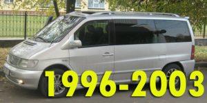 Защита картера двигателя для Mercedes-Benz Vito 1996-2003