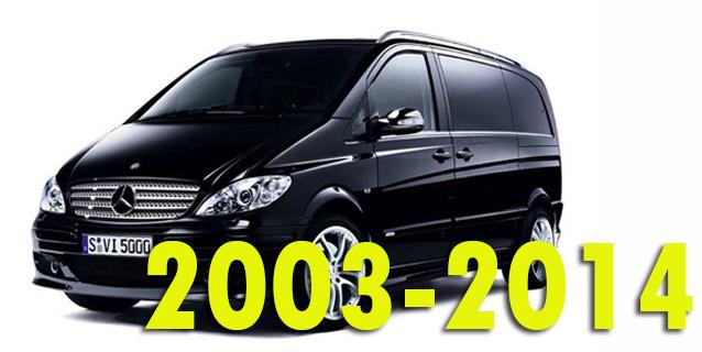 Защита картера двигателя для Mercedes-Benz Vito 2003-2014