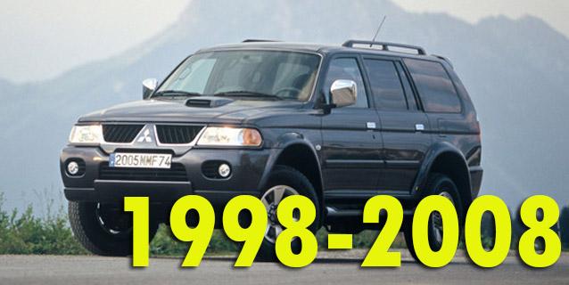 Фаркопы для Mitsubishi Pajero Sport 1998-2008