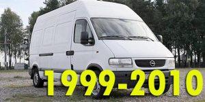 Защита картера двигателя для Opel Movano 1999-2010