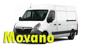 Фаркопы для Opel Movano