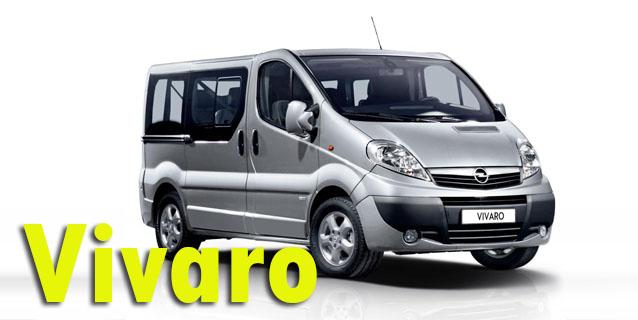 Фаркопы для Opel Vivaro