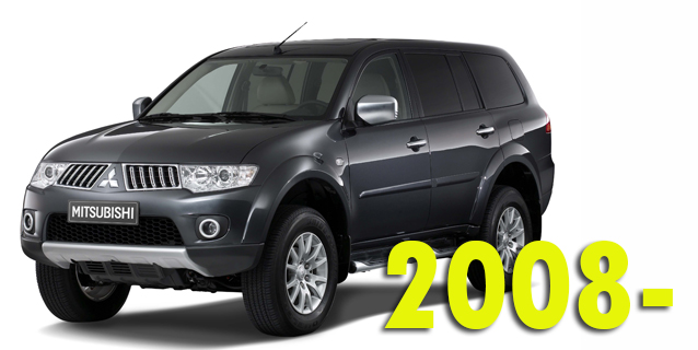 Защита картера двигателя для Mitsubishi Pajero Sport 2008-