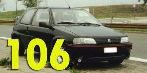 Фаркопы для Peugeot 106