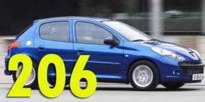 Фаркопы для Peugeot 206