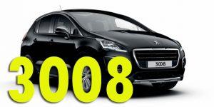 Фаркопы для Peugeot 3008