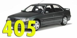 Фаркопы для Peugeot 405