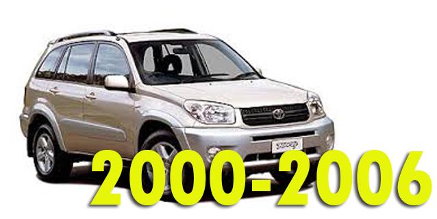 Фаркопы для Toyota RAV4 2000-2006