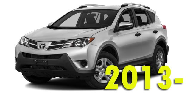 Фаркопы для Toyota RAV4 2013-