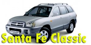 Защита картера двигателя для Hyundai Santa Fe Classic 2007-2012
