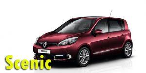 Фаркопы для Renault Scenic