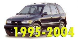Защита картера двигателя для Sportage 1995-2004