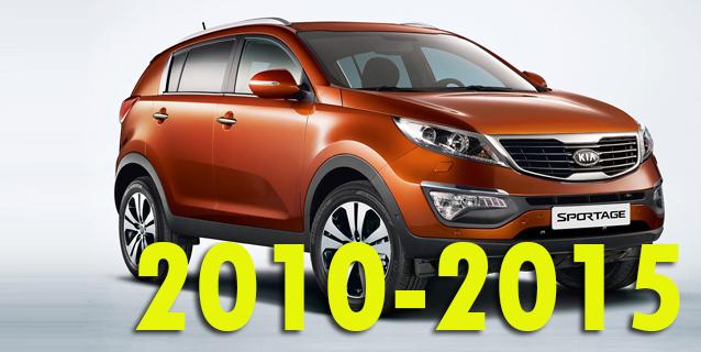 Защита картера двигателя для Kia Sportage 2010-2015