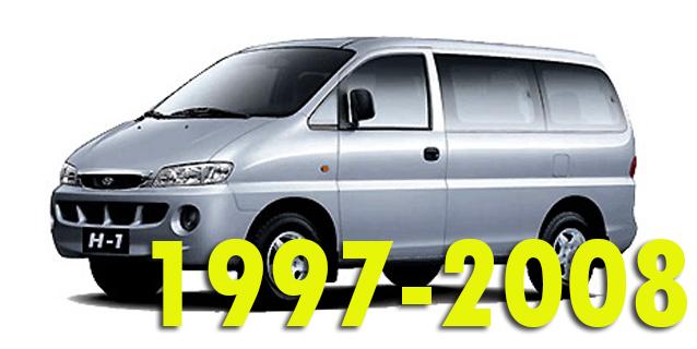 Защита картера двигателя для Hyundai Starex 1997-2008