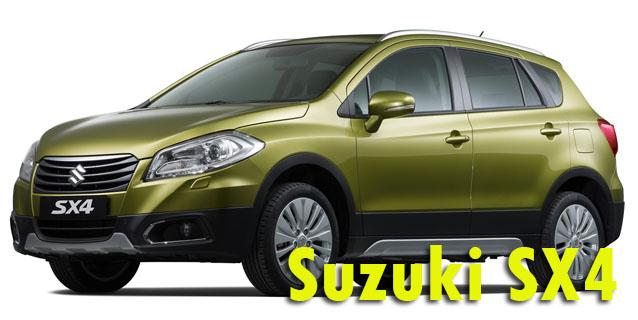 Фаркопы для Suzuki SX4