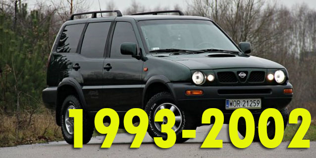 Защита картера двигателя для Nissan Terrano 1993-2002