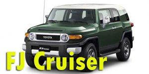 Фаркопы для Toyota FJ Cruiser