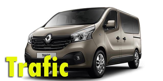 Фаркопы для Renault Trafic