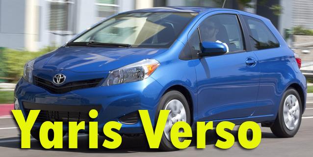Фаркопы для Toyota Yaris Verso