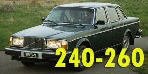 Багажники на крышу - Volvo 240-260