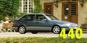 Багажники на крышу - Volvo 440
