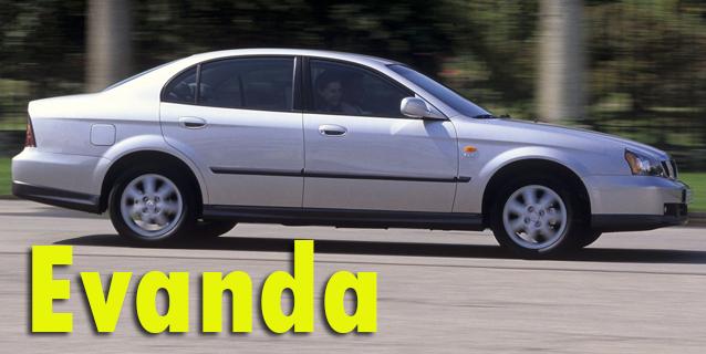 Защита картера двигателя для Chevrolet Evanda