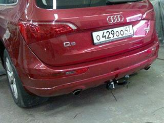 Фаркоп А 26 на Audi Q5