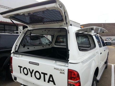 Кунг SAMMITR — V2 SOLID STEEL для Toyota Hilux Hilux Vigo 2006-2015