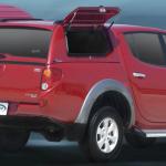 Кунг CML с распашными пластиковыми бортами для Mitsubishi L200 2006-2015