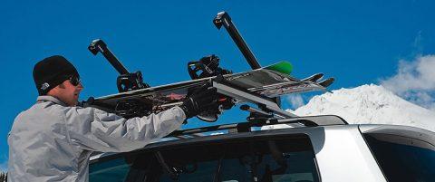 Багажник для лыж и сноубордов Thule Xtender 739