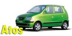 Фаркопы для Hyundai Atos