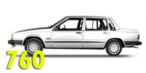 Багажники на крышу - Volvo 760
