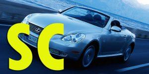 Защита картера двигателя для Lexus SC