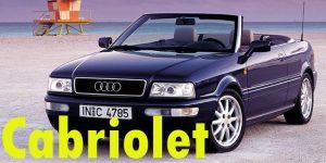 Защита картера двигателя для Audi Cabriolet