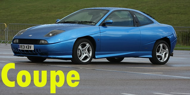 Защита картера двигателя для Fiat Coupe