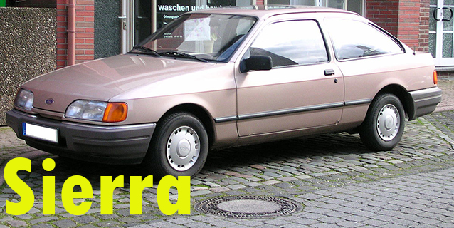 Защита картера двигателя для Ford Sierra