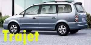 Защита картера двигателя для Hyundai Trajet