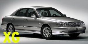 Защита картера двигателя для Hyundai XG
