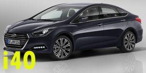 Защита картера двигателя для Hyundai i40