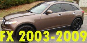 Защита картера двигателя для Infiniti FX 2003-2009