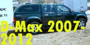 Защита картера двигателя для Isuzu D-Max 2007-2012