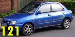 Защита картера двигателя для Mazda 121