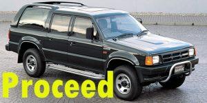 Защита картера двигателя для Mazda Proceed