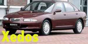 Защита картера двигателя для Mazda Xedos