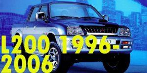 Защита картера двигателя для Mitsubishi L200 1996-2006