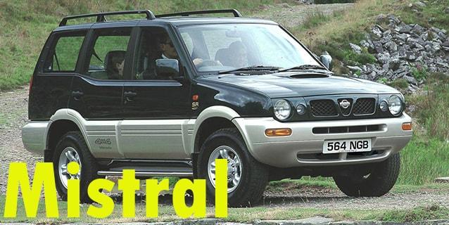 Защита картера двигателя для Nissan Mistral