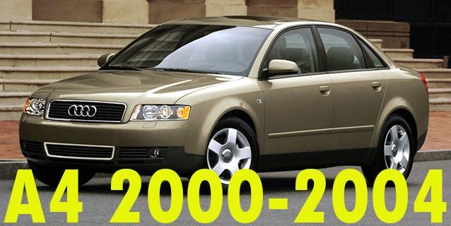 Фаркопы для Audi A4 2000-2004