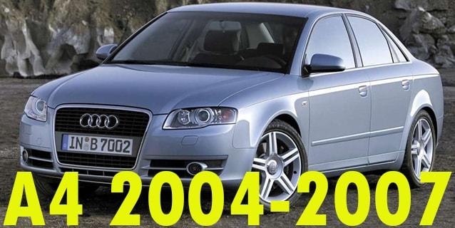 Фаркопы для Audi A4 2004-2007