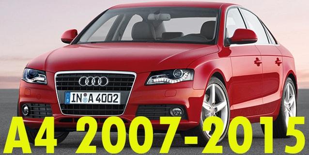Фаркопы для Audi A4 2007-2015