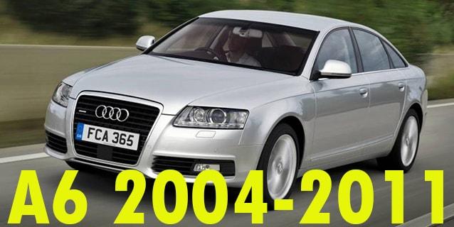 Фаркопы для Audi A6 2004-2011